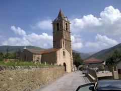 Eglise paroissiale Saint-Génis - Català: Esglèsia de la Mare de Déu d'Er, construïda al segle X però refeta en estil barroc al segle XVIII, es troba situada al barri d'Er de Dalt, Alta Cerdanya