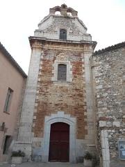 Eglise Saint-Vincent-et-Saint-Etienne - Català: Sant Esteve d'Estagell