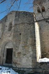 Eglise Saint-Félix - Català:   Sant Feliu de Fillols - Porta