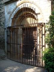 Prieuré Saint-Estève de Monastir-del-Camp - Deutsch: Das Portal der Klosterkirche Monastir del Camp