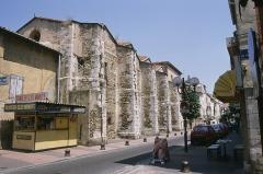 Ancienne chapelle Notre-Dame-des-Anges - Català: Perpinyà. Santa Maria dels Àngels. Església del barri de Sant Mateu que podria haver sigut del Temple. Desafectada des de la Revolució Francesa.