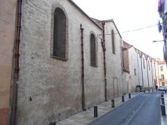 Eglise Notre-Dame de la Réal - Català: Façana est de Santa Maria la Real