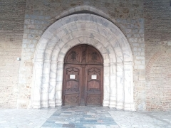 Eglise Saint-Jacques - Català: Portalada de Sant Jaume del Puig, antigament de Santa Maria de la Real