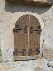 Eglise Notre-Dame-de-la-Merci - Català: Ferramenta romànica de Santa Maria de Planès, al Conflent.