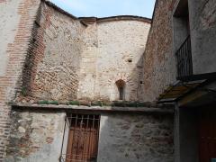 Eglise Saint-Martin - Català: Murs medievals de l'església