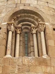 Eglise Saint-Etienne - Català: Sant Esteve de Saorra, finestra arquivoltada a l'absis