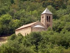 Eglise Saint-Etienne - Català: Sant Esteve de Saorra al Conflent