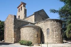 Eglise Saint-André de Sorède - Deutsch: St-André-de-Sorède, Chorhaupt von SO