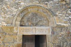 Eglise Saint-André de Sorède - Deutsch: St-André-de-Sorède, Türsturz mit tympanon