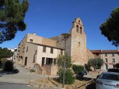 Eglise Sainte-Colombe - Català: L'església des del nord-oest