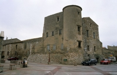 Château - Català: Sant Hipòlit de la Salanca (Rosselló). Castell templer. Any 2007.