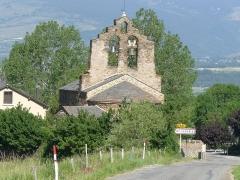 Eglise Sainte-Léocadie - Français:   Eglise de Ste-Léocadie, Pyrénées-Orientales, France