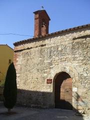 Ancienne église paroissiale Saint-Etienne - English: Saleilles (département of Pyrénées-Orientales, Languedoc-Roussillon région, France): Saint-Etienne chapel (XIIth century), former church of the village.