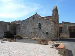 Eglise Saint-André - Català: Sant Andreu de Tarerac des del nord-uest