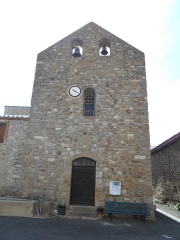 Eglise Saint-André - Català: Sant Andreu de Tarerac, Frontis occidental