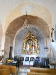 Eglise Saint-André - Català: Sant Andreu de Tarerac, Absis