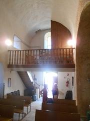 Eglise Saint-André - Català: Sant Andreu de Tarerac. Peus de la nau