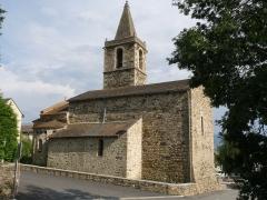 Eglise Saint-Martin - Français:   Eglise d\'Ur, Pyrénées-Orientales, France