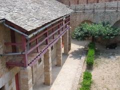 Fort Libéria (également sur commune de Fuilla) -  Fort Libéria: Unteroffizierskaserne (Obergeschoss) mit einer Bäckerei im Erdgeschoss