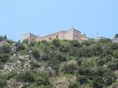 Fort Libéria (également sur commune de Fuilla) -  Fort Libéria: Blick auf das Fort von Villefranche-de-Conflent