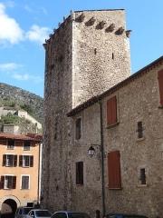 Ancien hôpital - Català: Placeta a la Rue Saint-Jacques, Vilafranca de Conflent.