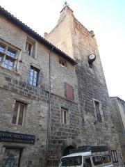 Ancien hôtel de ville - Català: Casa de la Vila de Vilafranca de Conflent. Façana del Carrer de Sant Joan