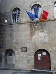 Ancien hôtel de ville - Català: Casa de la Vila de Vilafranca de Conflent. Portal principal