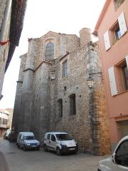 Eglise paroissiale Saint-Julien-et-Sainte-Baselisse - Català: Capçalera de l'església parrroquial de Vinçà