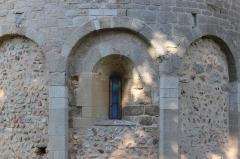 Chapelle Saint-Etienne-de-Villerase - Français:   Église Saint-Étienne de Vilarasa, baie dan abside