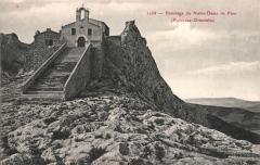 Ermitage Notre-Dame-de-Pène - Català: Postal antiga de l'ermita de Nostra Senyora de Pena
