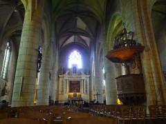 Eglise Saint-André - Français:   église St-André, Angoulême, Charente, France
