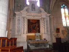 Eglise Saint-André - Français:   Retable et maître-autel de l\'église Saint-André, à Angoulême (Charente, France).