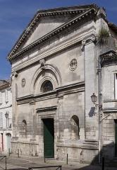 Eglise Saint-André - Français:   Façade de l\'église Saint-André (XIe, XVe et XVIIe siècles), Angoulême, Charente, France.