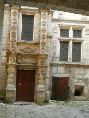 Maison dite Maison Saint-Simon - English:   Old renaissance hotel St-Simon, Angoulême, Charente, SW France
