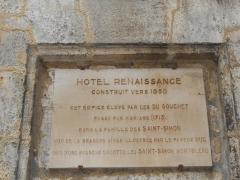 Maison dite Maison Saint-Simon - Français:   Hôtel Saint-Simon, Angoulême, Charente, France. Une maison renaissance construit vers 1550.