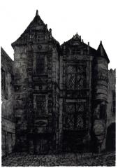 Maison dite Maison Saint-Simon - Français:   de l\'hôtel st-Simon.