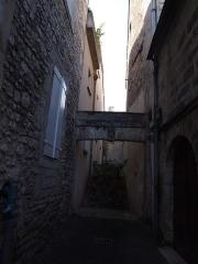 Maison de la Marbrerie - Français:   Maison de la marbrerie, anciennement 11 rue des juifs à Angoulême en Charente (France)  (Inscrit, 1948)