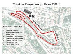 Remparts -  Circuit des Remparts Angoulême France