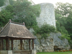 Remparts - English: Cherrière tower. City wall of Beaulieu, Angoulême (Charente, SW France)
