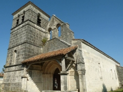 Eglise Saint-Maclou - English: church of Ars, Charente, SW France