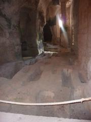 Eglise souterraine monolithe Saint-Jean - English: Church of Aubeterre-sur-Dronne, Charente, France