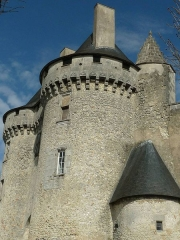 Château de Barbezieux - English: castle of Barbezieux, Charente, SW France