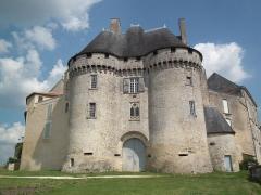 Château de Barbezieux - Français:   Le château de Barbezieux