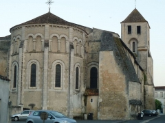Eglise Saint-Mathias - English: St-Mathias church at Barbezieux, Charente, SW France