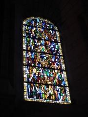Eglise Saint-Mathias - Français:   Vitrail de l\'église de Barbezieux