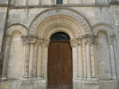 Eglise Saint-Pardoux - English: church of Barret, Charente, SW France
