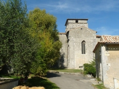 Eglise Notre-Dame - English: church of Berneuil, Charente, SW France
