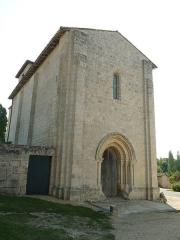 Eglise Saint-Cybard - Français:   église de Blanzaguet (16), France