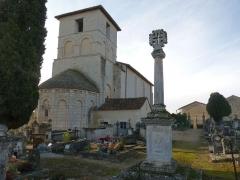 Eglise Saint-Cybard - Français:   église de Blanzaguet, Charente, France