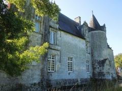 Château du Breuil - Deutsch: Das Château du Breuil bei Bonneuil, Nordseite von Nordosten